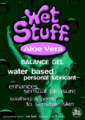 Wet Stuff Plus with Aloe Vera 90g