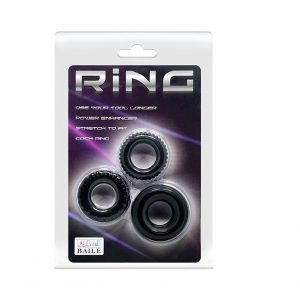Ring 3 Pack Cock Rings
