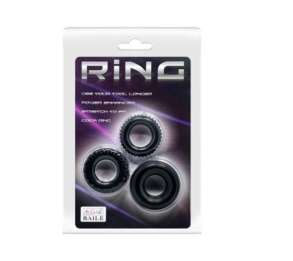 Ring 3 Pack Cock Rings